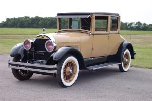 1924 Cadillac Model V-63 Victoria Coupe